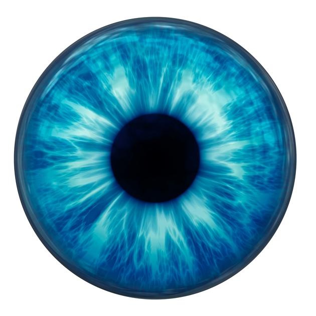 Glass Reborn Doll Eye