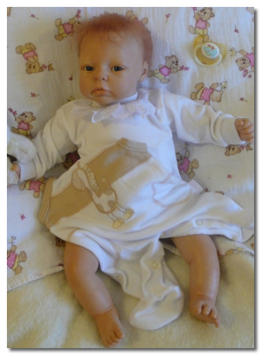 Painted Reborn Doll