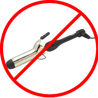 Don't Use a Curling Iron