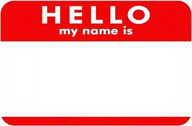 Reborn Name Tag
