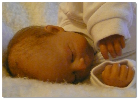 Reborn Doll With Painted Nails