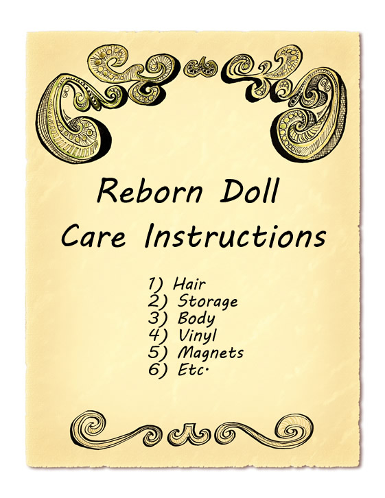 Reborn Doll Care Instructions